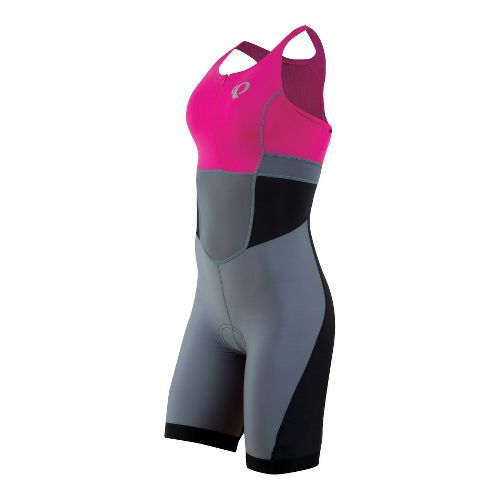 Womens Pearl Izumi SELECT Triathlon UniSuits - Hot Pink/Stormy XL