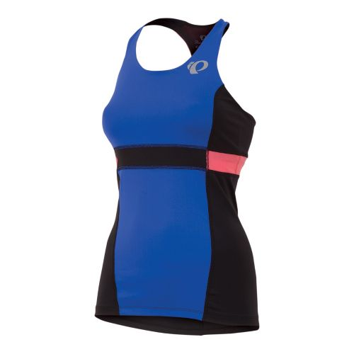 Womens Pearl Izumi SELECT Tri Support Singlets Technical Tops - Dazzling Blue L