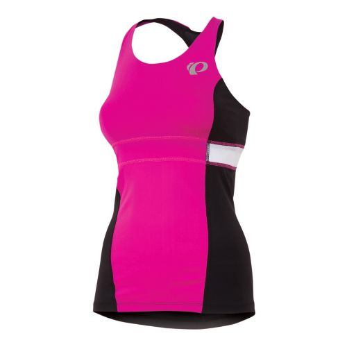 Womens Pearl Izumi SELECT Tri Support Singlets Technical Tops - Hot Pink L