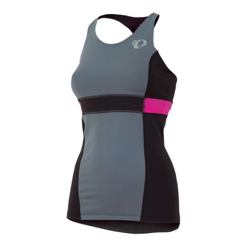 Womens Pearl Izumi SELECT Tri Support Singlets Technical Tops - Stormy M