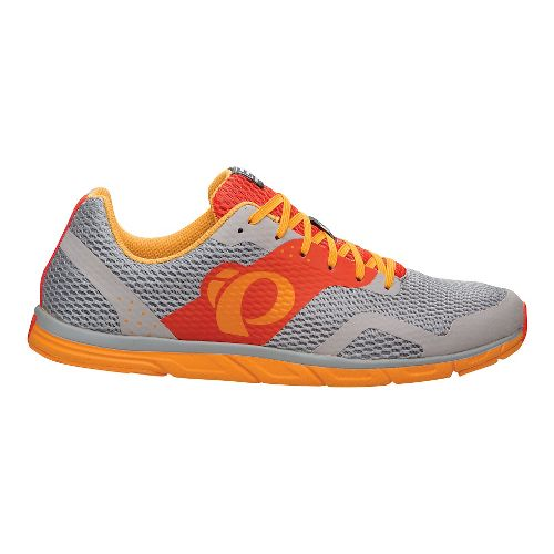 Mens Pearl Izumi EM Road N 0 Running Shoe - Mandarin Red/Yellow 11