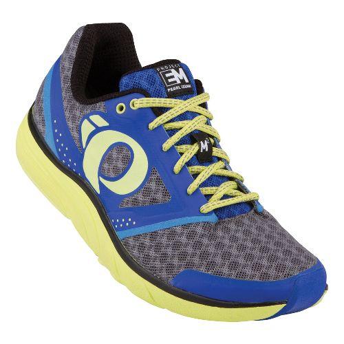 Womens Pearl Izumi EM Road M 2 Running Shoe - Dazzling Blue/Black 6.5