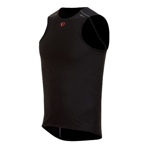 Mens Pearl Izumi Transfer Lite Baselayer Sleeveless Technical Tops - Black XXL