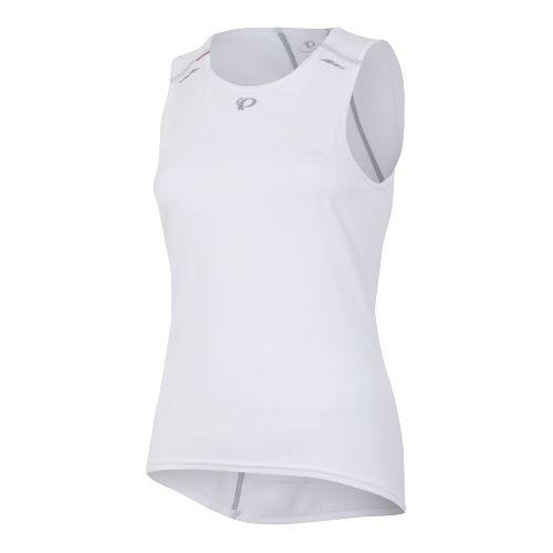Womens Pearl Izumi Transfer Baselayer Sleeveless Technical Tops - White XL