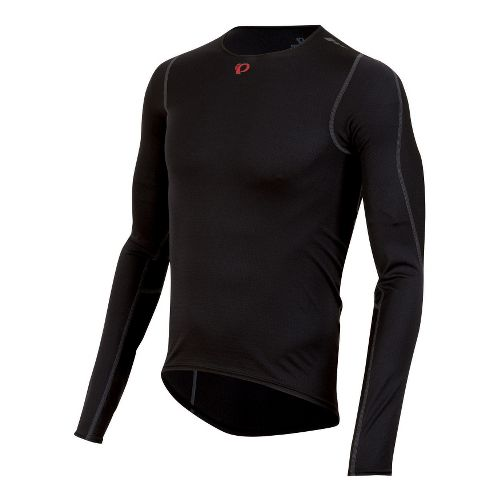 Mens Pearl Izumi Transfer Baselayer Long Sleeve No Zip Technical Tops - Black M