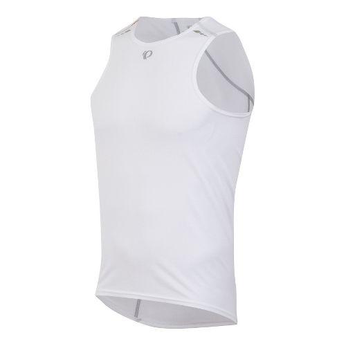 Mens Pearl Izumi Transfer Baselayer Sleeveless Technical Tops - White M
