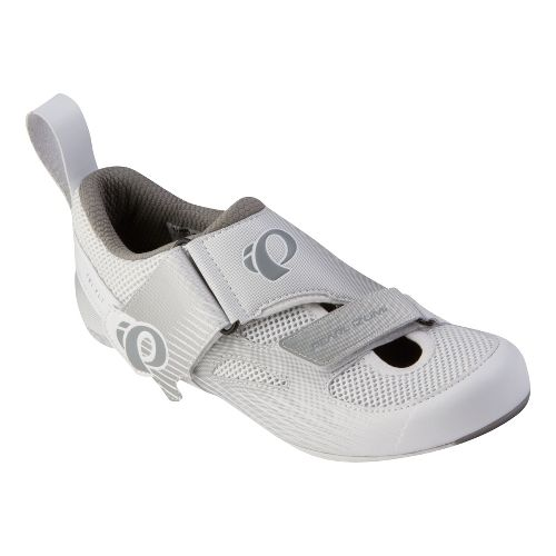Womens Pearl Izumi Tri Fly IV Carbon Cross Training Shoe - White/White 37.5