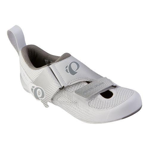 Womens Pearl Izumi Tri Fly IV Carbon Cross Training Shoe - White/White 43