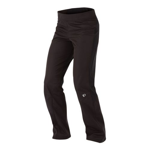 Womens Pearl Izumi Fly Softshell Run Cold Weather Pants - Black XS