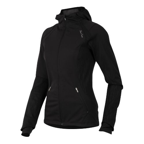 Womens Pearl Izumi Fly Softshell Run Hoody Outerwear Jackets - Black XL