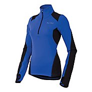 Womens Pearl Izumi Fly Thermal Run Top Long Sleeve Half Zip Technical Tops