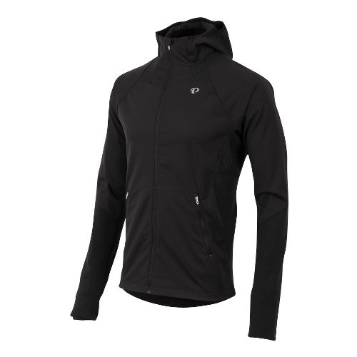 Mens Pearl Izumi Fly Softshell Run Hoody Outerwear Jackets - Black XL