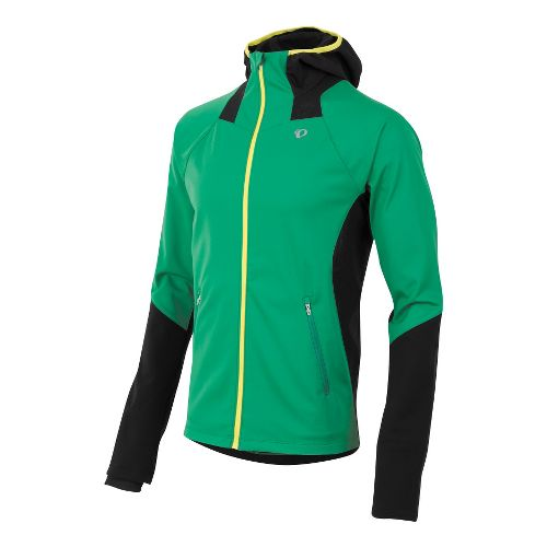 Mens Pearl Izumi Fly Softshell Run Hoody Outerwear Jackets - Jelly Bean XL