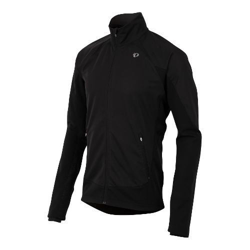Mens Pearl Izumi Fly Softshell Run Outerwear Jackets - Black S
