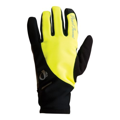 Womens Pearl Izumi Select Softshell Glove Handwear - Screaming Yellow XL
