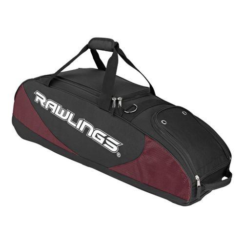 Rawlings Bat Bag Wheeled Bags - Maroon