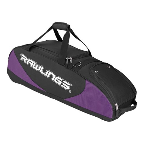Rawlings Bat Bag Wheeled Bags - Purple