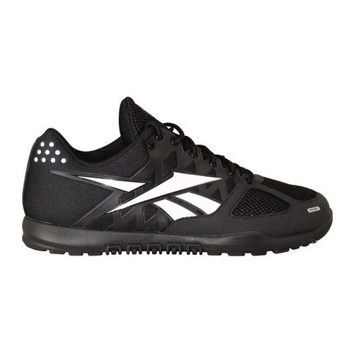 Mens Reebok CrossFit Nano 2.0 Cross Training Shoe - Black/Grey 9.5