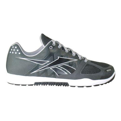 Mens Reebok CrossFit Nano 2.0 Cross Training Shoe - Charcoal/Black 8