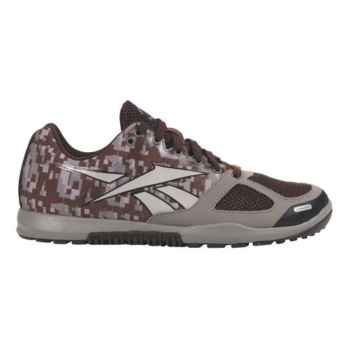 Mens Reebok CrossFit Nano 2.0 Cross Training Shoe - Camo 10.5