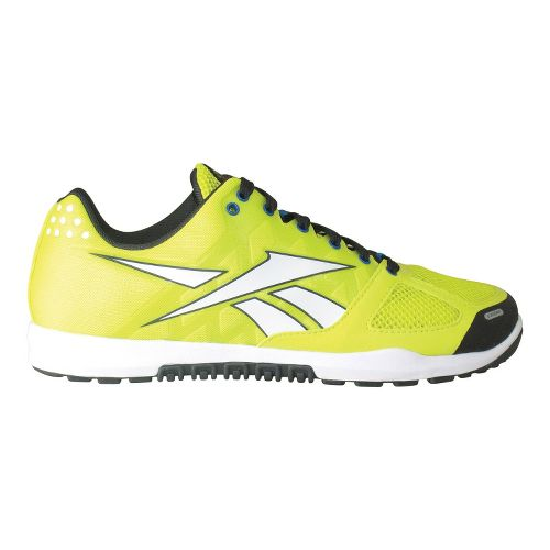 Mens Reebok CrossFit Nano 2.0 Cross Training Shoe - Green Glow 10.5