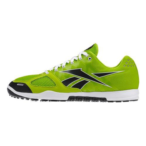Mens Reebok CrossFit Nano 2.0 Cross Training Shoe - Lime/Black 7.5