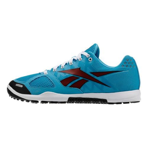 Womens Reebok CrossFit Nano 2.0 Cross Training Shoe - Blue/Red 9.5