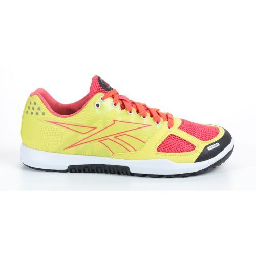 Womens Reebok CrossFit Nano 2.0 Cross Training Shoe - Green Glow/Coral 8