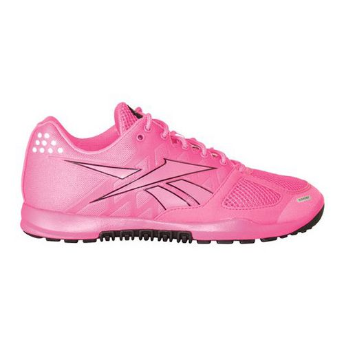 Womens Reebok CrossFit Nano 2.0 Cross Training Shoe - Pink/Black 7.5