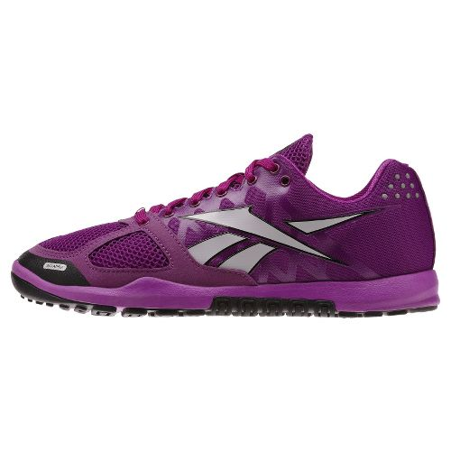 Womens Reebok CrossFit Nano 2.0 Cross Training Shoe - Purple/White 10