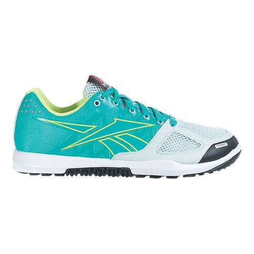 Womens Reebok CrossFit Nano 2.0 Cross Training Shoe - Teal 10