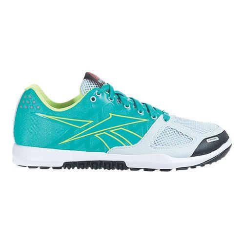 Womens Reebok CrossFit Nano 2.0 Cross Training Shoe - Teal 10.5