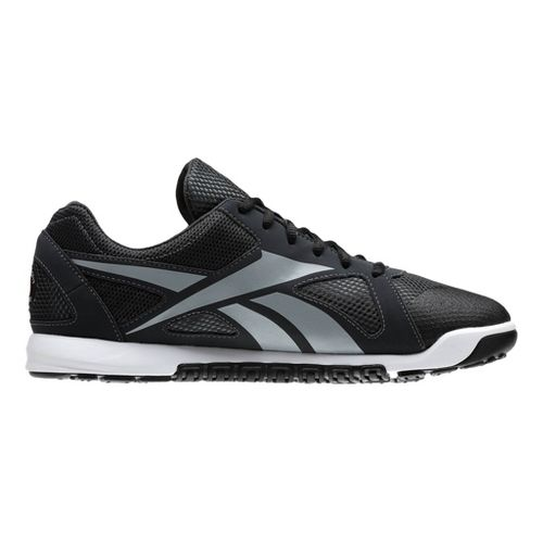 Mens Reebok CrossFit Nano U-Form Cross Training Shoe - Charcoal/Grey 12.5