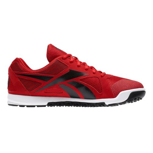 Mens Reebok CrossFit Nano U-Form Cross Training Shoe - Red/Black 11.5