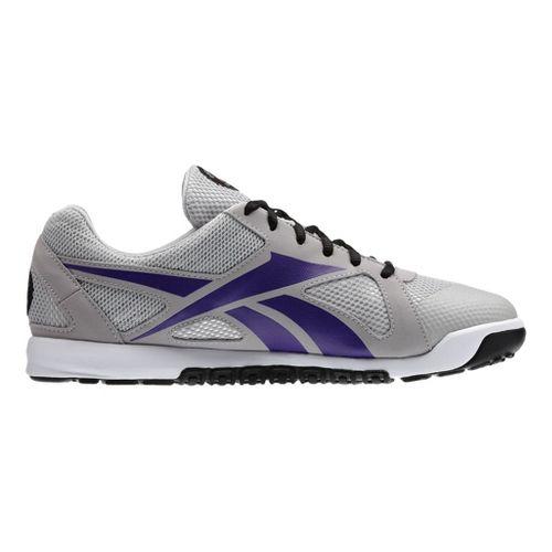 Mens Reebok CrossFit Nano U-Form Cross Training Shoe - Steel/Purple 9