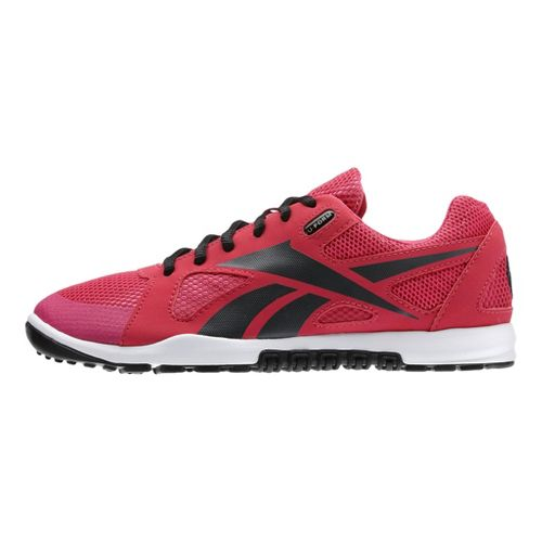 Womens Reebok CrossFit Nano U-Form Cross Training Shoe - Berry/Charcoal 9