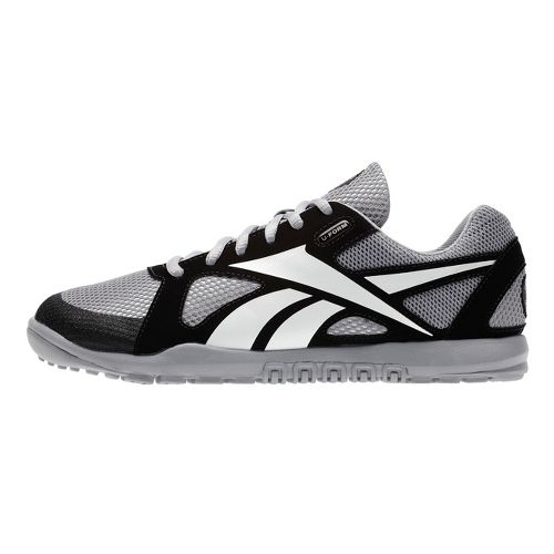 Womens Reebok CrossFit Nano U-Form Cross Training Shoe - Grey/Black 8