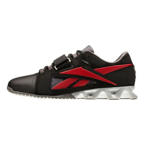 Mens Reebok CrossFit Lifter Cross Training Shoe - Black/Red 10.5