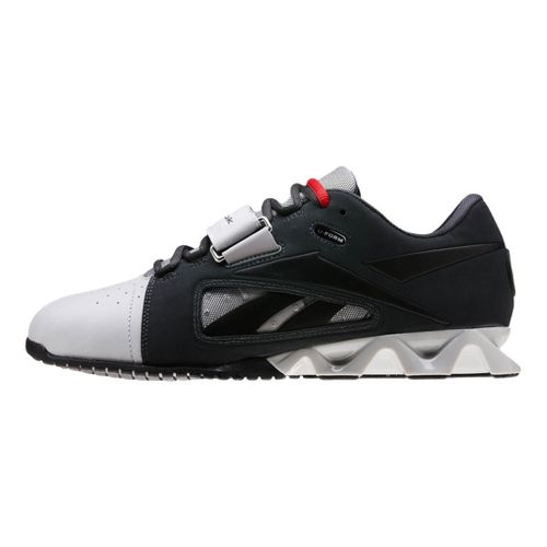Mens Reebok CrossFit Lifter Cross Training Shoe - Charcoal/White 12.5