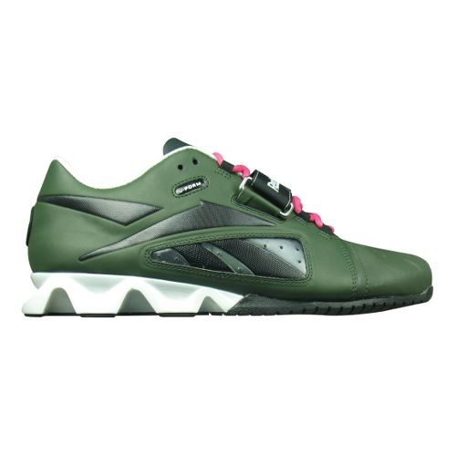 Mens Reebok CrossFit Lifter Cross Training Shoe - Green/Pink 10.5