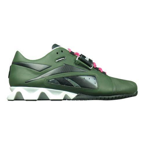 Mens Reebok CrossFit Lifter Cross Training Shoe - Green/Pink 9.5