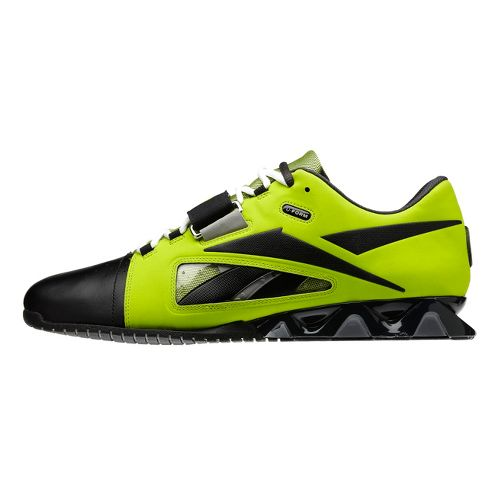 Mens Reebok CrossFit Lifter Cross Training Shoe - Lime/Black 12.5