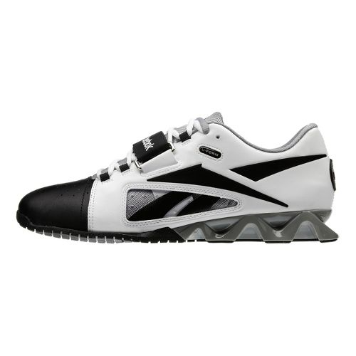 Mens Reebok CrossFit Lifter Cross Training Shoe - White/Black 9.5