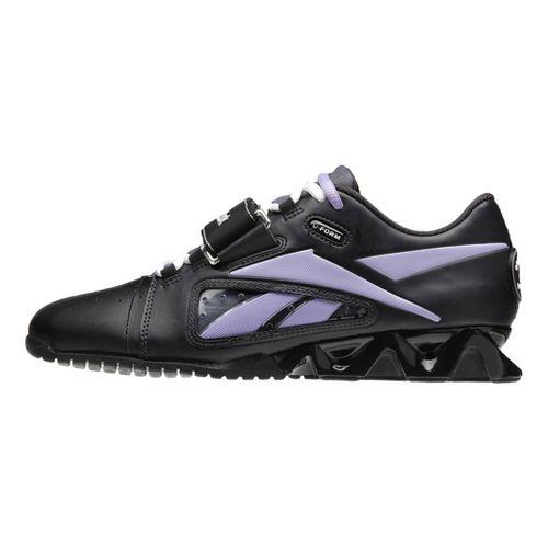 Womens Reebok CrossFit Lifter Cross Training Shoe - Black/Purple 7.5