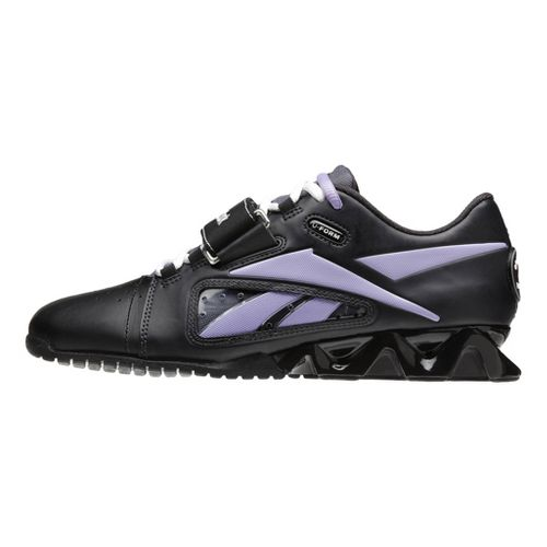 Womens Reebok CrossFit Lifter Cross Training Shoe - Black/Purple 9.5