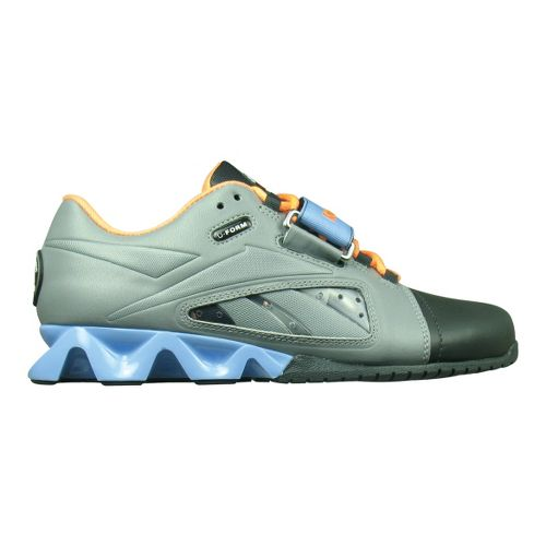 Womens Reebok CrossFit Lifter Cross Training Shoe - Grey/Orange 10.5