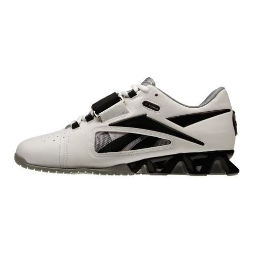 Womens Reebok CrossFit Lifter Cross Training Shoe - White/Black 7.5