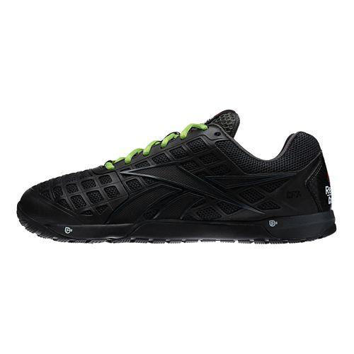 Mens Reebok CrossFit Nano 3.0 Cross Training Shoe - Black/Green 11.5