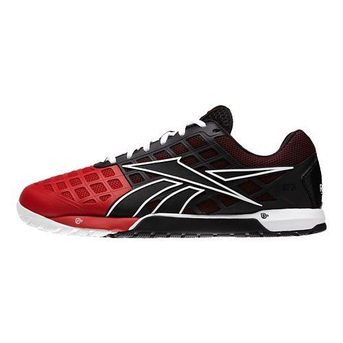Mens Reebok CrossFit Nano 3.0 Cross Training Shoe - Black/Red 10