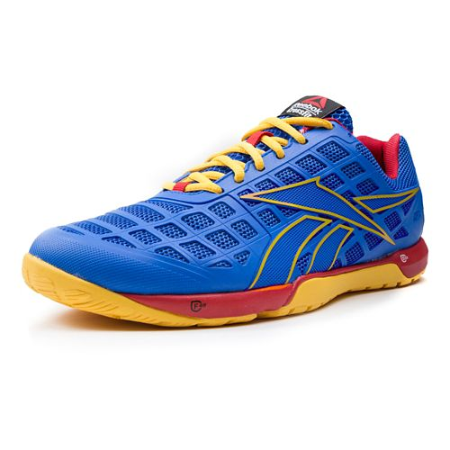 Mens Reebok CrossFit Nano 3.0 Cross Training Shoe - Blue/Yellow 11.5
